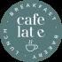 Pegatina Cafe Late